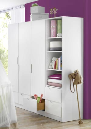 Armoire en 3 parties Fresh, par Geuther 2016 - Image de grande taille