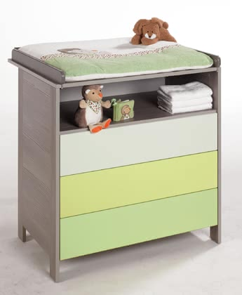 Geuther changing table Limoncello 2014 - Image de grande taille