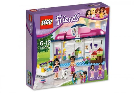 Jeu de Construction, L'Animalerie d'Heartlake City, par LEGO Friends 2014 - Image de grande taille