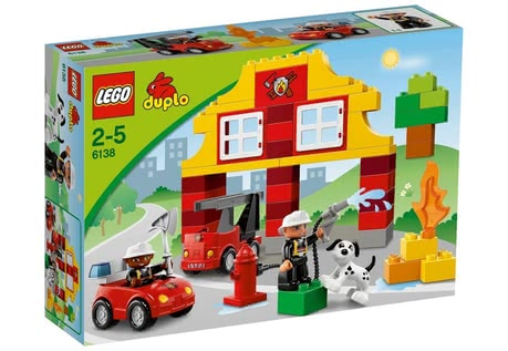 LEGO Duplo My First Fire station 2014 - Image de grande taille