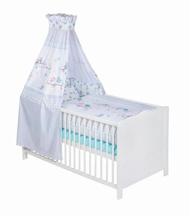 Zöllner 3-piece cot set Sitting Birds 2016 - Image de grande taille