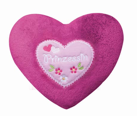 Zöllner Cozy cushion with appliqué, Little Princess 2015 - Image de grande taille