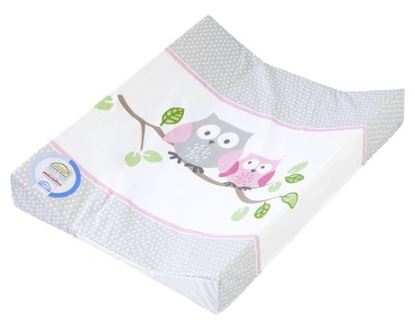 Zöllner Double-wedge changing mat Little Owls, pink 2016 - Image de grande taille