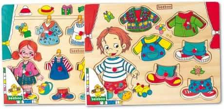 Beeboo clothes jigsaw 2017 - Image de grande taille