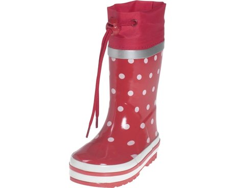 Playshoes Gummistiefel, Punkte rot 2016 - Image de grande taille