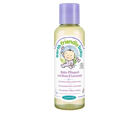 Lansinoh Earth Friendly Baby oil Shea & Lavender 2016 - Image de grande taille