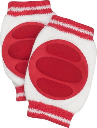 Playshoes kneepad weiß_rot 2016 - Image de grande taille