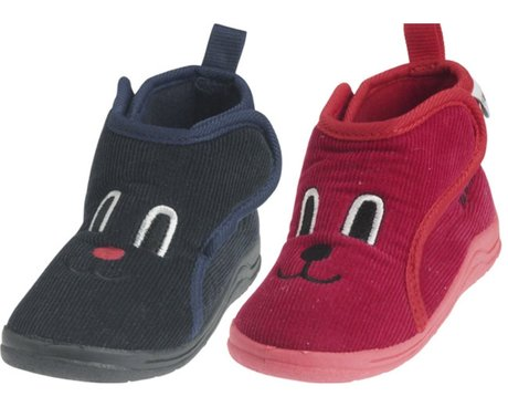 Playshoes cord slippers rot 2016 - Image de grande taille