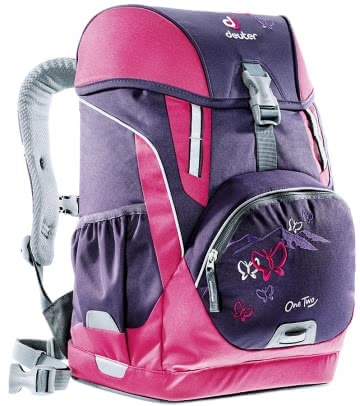 Deuter school bag OneTwo in blueberry butterfly 2016 - Image de grande taille