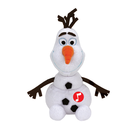 Disney Frozen Olaf plush toy with sound 2016 - Image de grande taille